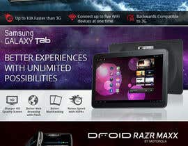 #35 for Advertisement Design for Verizon Wireless Premium Retailer- The Wireless Center by wademd