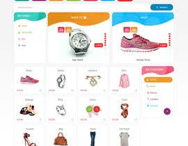#40 for Design an e-commerce website mockup (Design Only, No programming Required) by syrwebdevelopmen