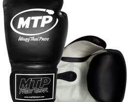 #30 for Design a Basic Black and White Boxing Glove (I already have logo options) by OvidiuSV