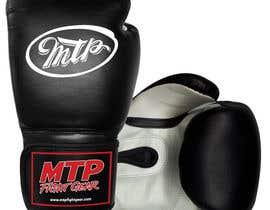 #40 for Design a Basic Black and White Boxing Glove (I already have logo options) by OvidiuSV