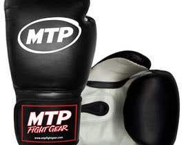 #46 for Design a Basic Black and White Boxing Glove (I already have logo options) by OvidiuSV