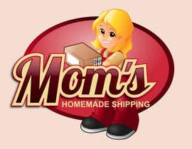 #116 para Logo Design for Mom's Homemade Shipping por GreenAndWhite