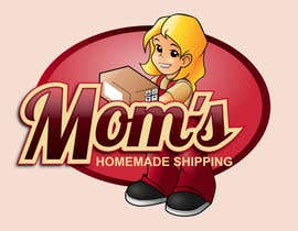 #115 untuk Logo Design for Mom's Homemade Shipping oleh GreenAndWhite