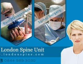 #111 pentru Banner Ad Design for London Spine Unit de către neev16