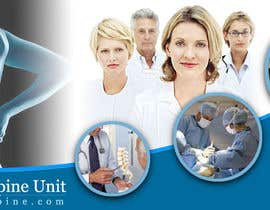 #135 pentru Banner Ad Design for London Spine Unit de către Coriakin