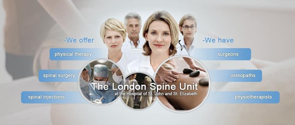 Конкурсная заявка №97 для Banner Ad Design for London Spine Unit
