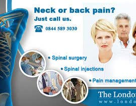 #128 pentru Banner Ad Design for London Spine Unit de către mandrake2132