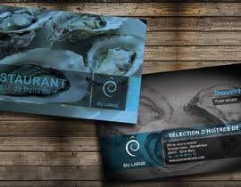 nº 14 pour Design a Business Card for a Restaurant par larislalong4dev