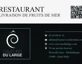 nº 7 pour Design a Business Card for a Restaurant par dd1web