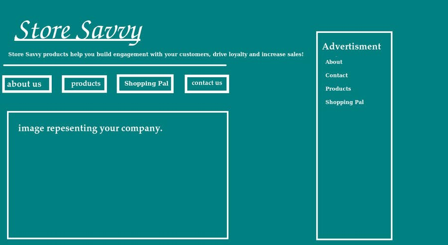 #37 for 'Design a new logo'. Description - New logo needed for website to help shoppers called Store Savvy. by burhan102