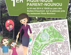 #8 for Create a flyer to advertise picnic related to website launch (in French) by amcgabeykoon