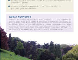 #20 for Create a flyer to advertise picnic related to website launch (in French) by amcgabeykoon