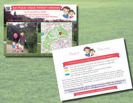 #9 for Create a flyer to advertise picnic related to website launch (in French) by Sele2