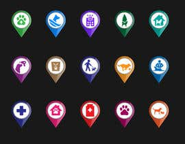 #19 for Redesign 15 Map Markers for a Locator Page by praxlab