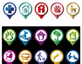 #18 for Redesign 15 Map Markers for a Locator Page by kalpa1lanka