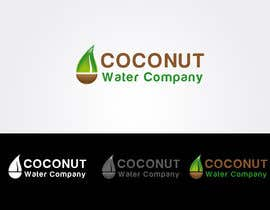 #186 para Logo Design for Startup Coconut Water Company por designerartist