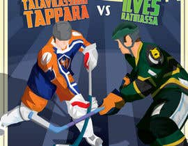 #9 для Graphic Design for Hockey event от Ferrignoadv