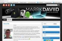 Graphic Design Konkurrenceindlæg #27 for Banner Design for MarrkDaviid.com