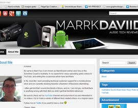 #29 для Banner Design for MarrkDaviid.com от Ferrignoadv