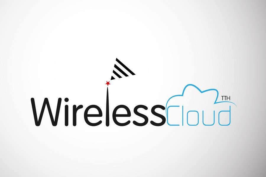 Penyertaan Peraduan #                                        730                                      untuk                                         Logo Design for Wireless Cloud TTH
