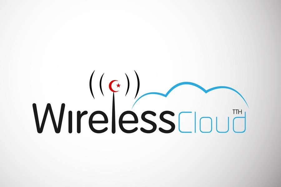 Penyertaan Peraduan #                                        735                                      untuk                                         Logo Design for Wireless Cloud TTH