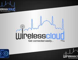 dimitarstoykov tarafından Logo Design for Wireless Cloud TTH için no 729