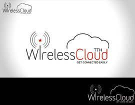 blackbilla tarafından Logo Design for Wireless Cloud TTH için no 662