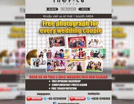 #37 untuk Design a Flyer for Thepica Studio Wedding Fair oleh niyajahmad