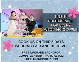 #20 untuk Design a Flyer for Thepica Studio Wedding Fair oleh Bebiblush