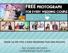#31 untuk Design a Flyer for Thepica Studio Wedding Fair oleh Bebiblush