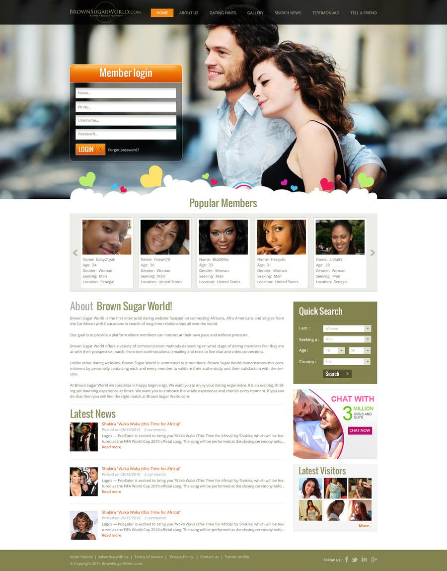Live dating website #2