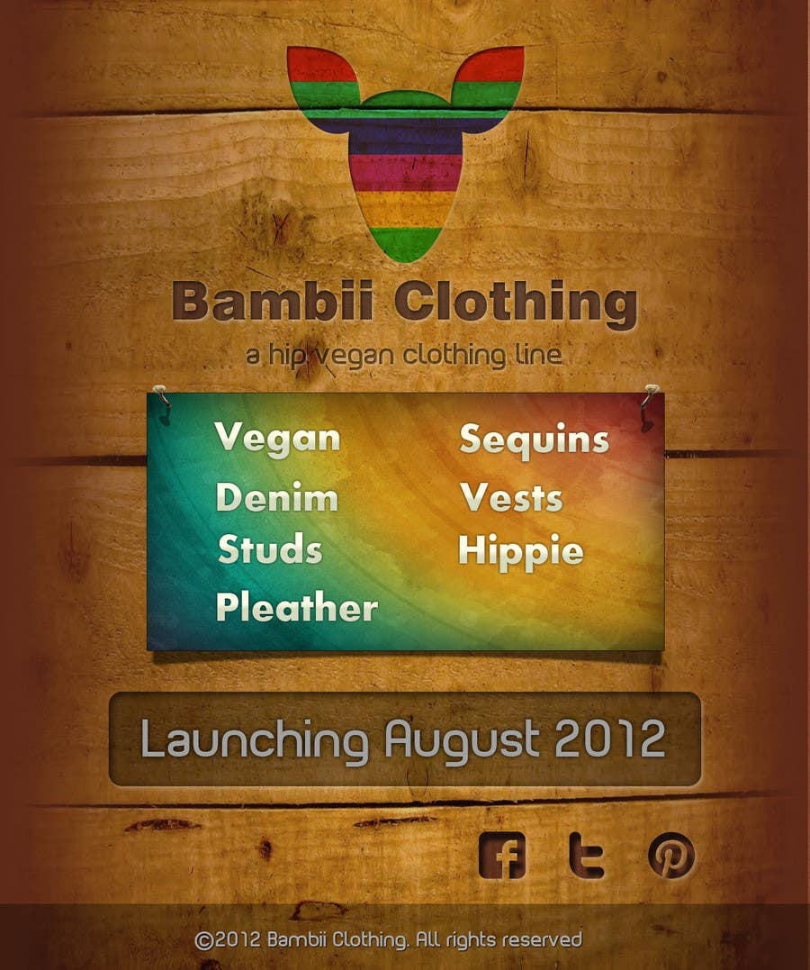 #12 for Graphic Design for bambii clothing.ca by dipcore