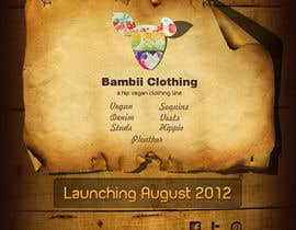 #19 for Graphic Design for bambii clothing.ca af dipcore