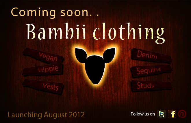 #15 for Graphic Design for bambii clothing.ca by farhanpm786