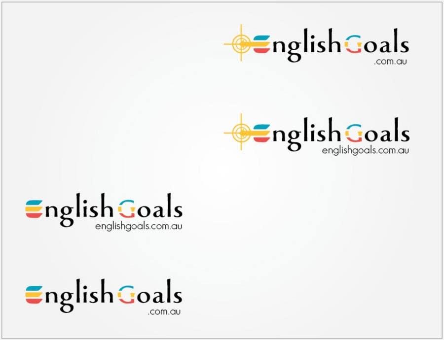 Конкурсная заявка №80 для Logo Design for 'English Goals'