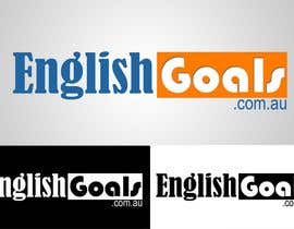 #108 for Logo Design for 'English Goals' af vikram1989