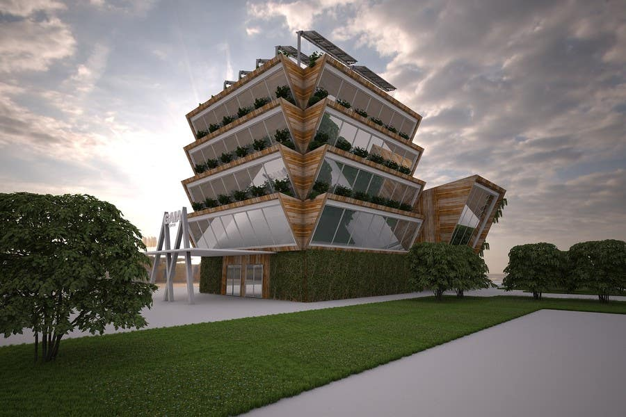 Top Entries 3d Modelisation Of A Center Dedicated To