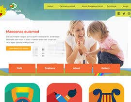 #7 for Design a product web site for Child Daycare Center Software. by epuranviorel
