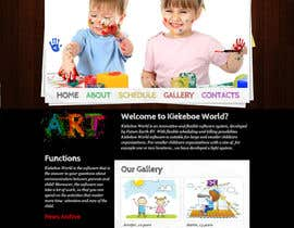 #16 for Design a product web site for Child Daycare Center Software. by chetanmenaria3
