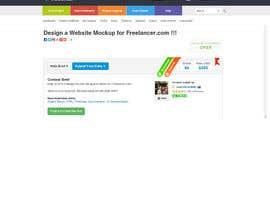 #68 for Design a Website Mockup for Freelancer.com !!! by amitwebdesigner