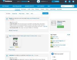 #10 for Design a Website Mockup for Freelancer.com !!! by SirSharky