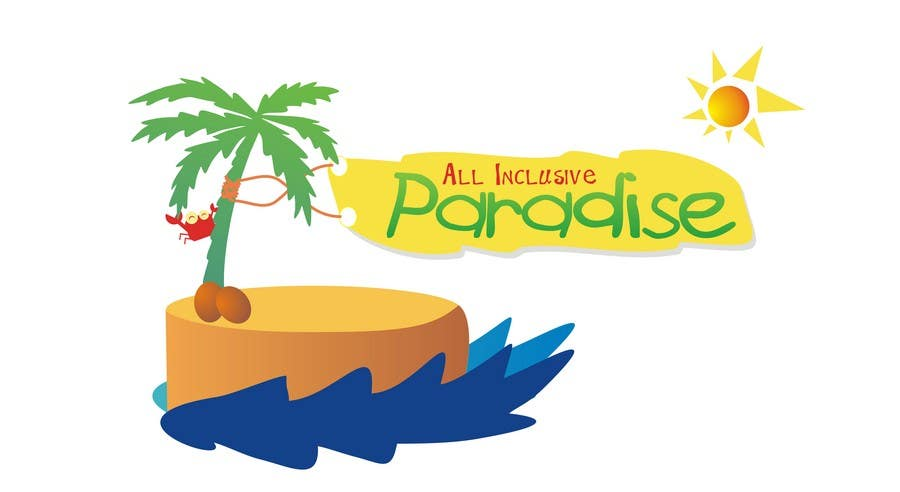 Contest Entry #                                        61                                      for                                         Logo Design for All Inclusive Paradise