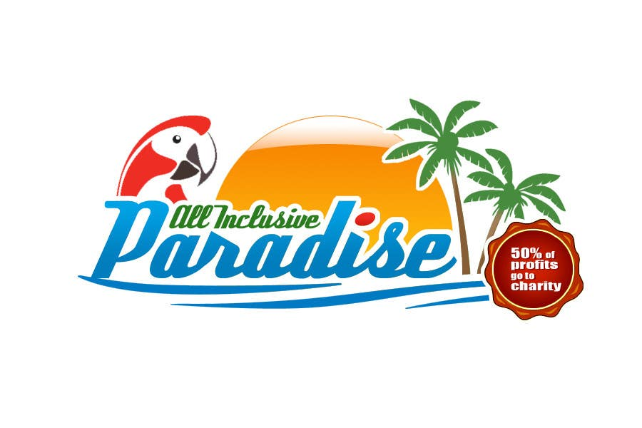 Contest Entry #                                        75                                      for                                         Logo Design for All Inclusive Paradise
