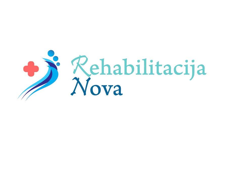 "Конкурсная заявка №150 для Logo Design for a rehabilitation clinic in Croatia -  ""Rehabilitacija Nova"""
