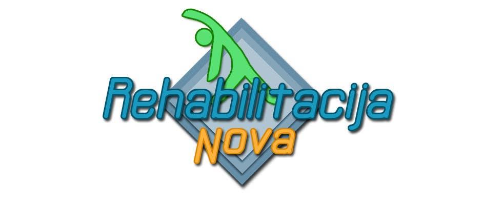 "Конкурсная заявка №58 для Logo Design for a rehabilitation clinic in Croatia -  ""Rehabilitacija Nova"""