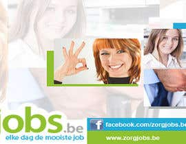 #4 for Ontwerp een Banner for facebook, twitter, linkedin header for a health care jobboard by jeffreynevado