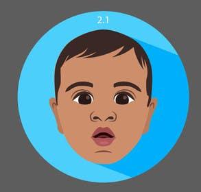 Image of                             Design a flat icon converting ki...