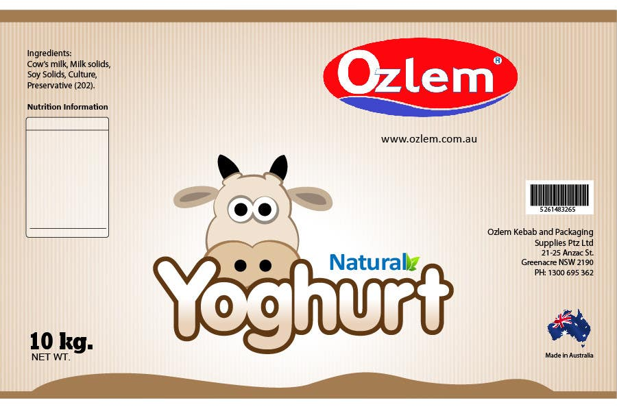 #180 for Graphic Design for Ozlem Kebab & Packaging Pty Ltd by greatdesign83