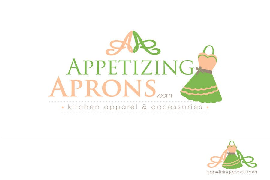 Penyertaan Peraduan #                                        104                                      untuk                                         Logo Design for AppetizingAprons.com