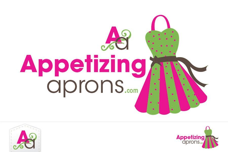 """Intrarea #28 pentru concursul """"Logo Design for AppetizingAprons.com"""""""